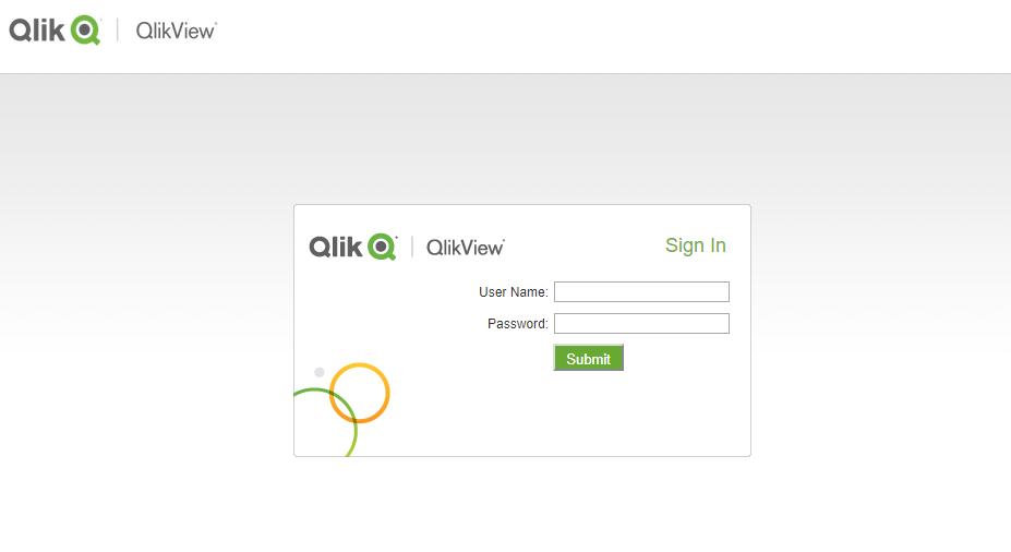 Как поменять страницу авторизации в Access Point QlikView 12